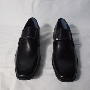 STEVE MADDEN Sherman Men's Black Loafers SIZE 9